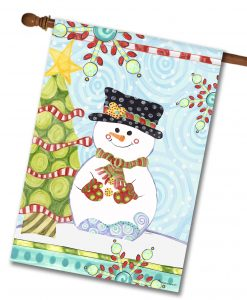 jolly-christmas-snowman-house-flag