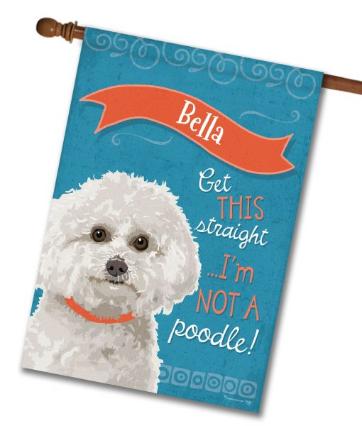 personalized_bichon-frise_house-flag