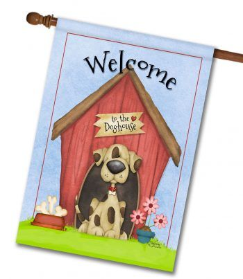 welcome-to-the-doghouse_shelly-comiskey_house-flag