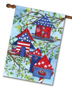 American Birdhouses- House Flag - 28'' x 40''