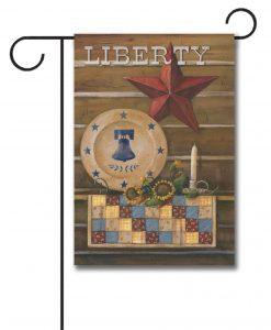 Americana Liberty- Garden Flag - 12.5'' x 18''