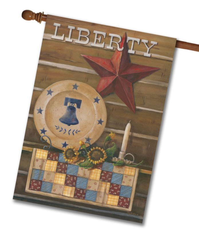 Americana Liberty- House Flag - 28'' x 40''