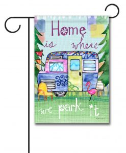 Color My Camper- Garden Flag - 12.5'' x 18''