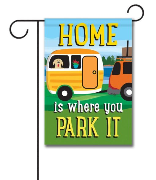 RV Dog- Garden Flag - 12.5'' x 18''