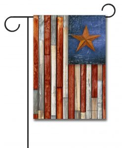 Patriotic Americana Flag- Garden Flag - 12.5'' x 18''