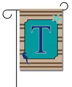 Sea Life  - Monogram Garden Flag - 12.5'' x 18''