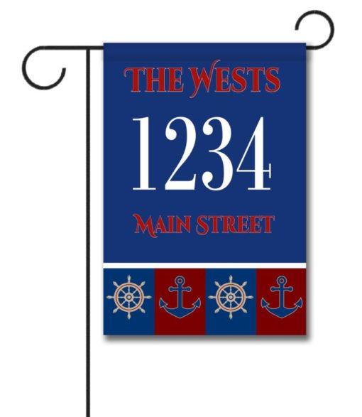 Welcome Aboard  - House Flag - 28'' x 40''
