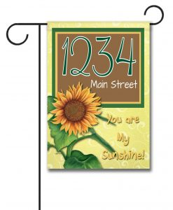 "You Are My Sunshine  - Address House Flag 28""x40"""