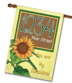 You Are My Sunshine - Address Garden Flag - 12.5'' x 18''