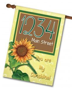 You Are My Sunshine - Address Garden Flag - 12.5'' x 18''