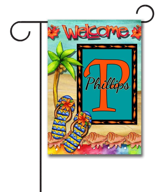 Welcome Summer Family Garden Flag