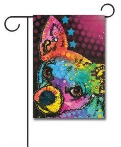Colorful Chihuahua U2013 Garden Flag U2013 12.5u201d X 18u201d