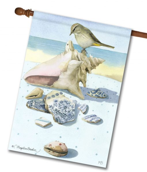 Palm Warbler Seashell HOUSE