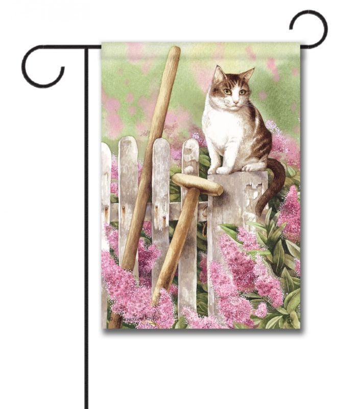 Dog And Cat Garden Flags