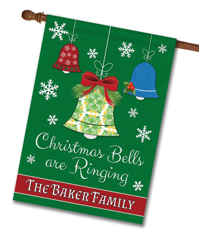 personalized christmas bells
