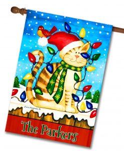 decorative art christmas flags flagologycom - Decorative Christmas Flags