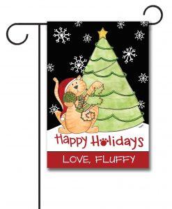 decorative art christmas flags - Decorative Christmas Flags