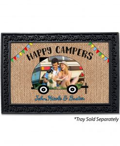 Happy Campers Photo Doormat