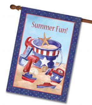 Sand Toys Beach House Flag