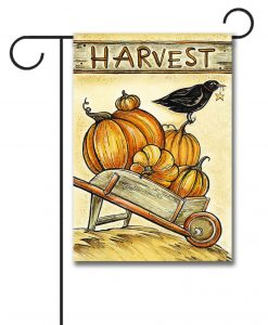 Harvest Pumpkin – Garden Flag