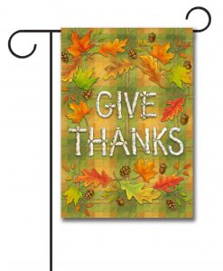 Leaf Thanksgiving – Garden Flag