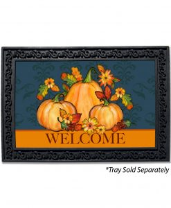 Welcome Pumpkin Doormat