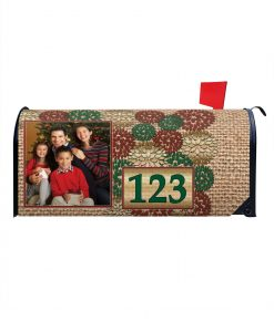 Personalized Christmas Mailbox Cover