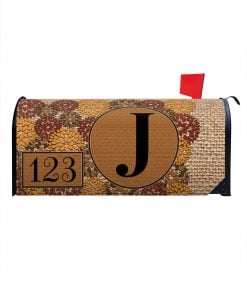 Personalized Fall Magnetic Mailbox Cover