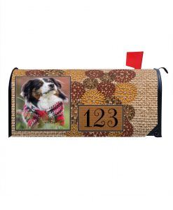Personalized Fall Mailbox Cover