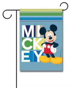Blocks Mickey Mouse Garden Flag