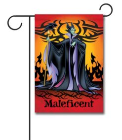Maleficent Disney Villain Garden Flag