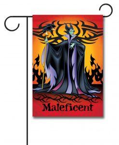Maleficent Disney Villain Garden Flag