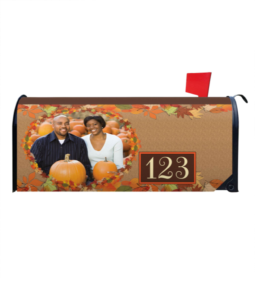 Fall Leaves Magnetic Mailbox Cover