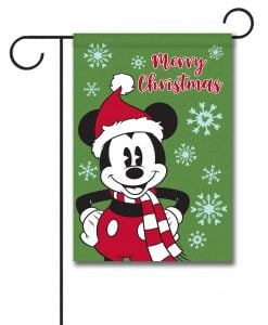 Mickey Mouse Garden Disney Christmas Flag