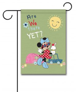 Minnie Mouse Disney Camper Garden Flag