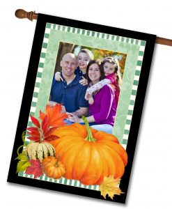 Pumpkin Photo House Flag