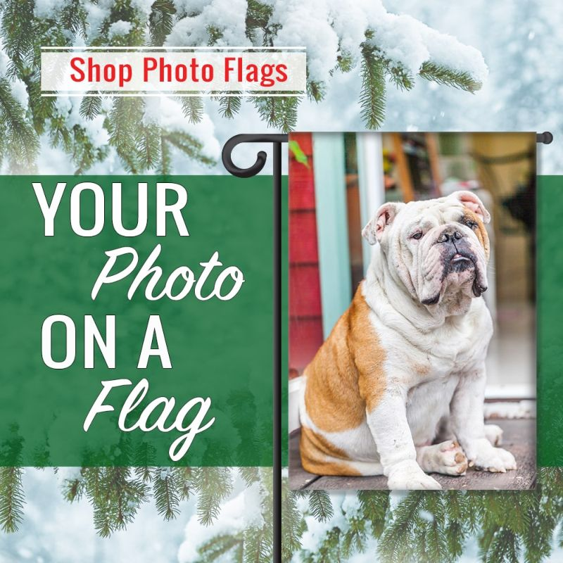 Photo Flags Personalized