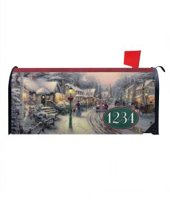 Thomas Kinkade Christmas Mailbox Cover