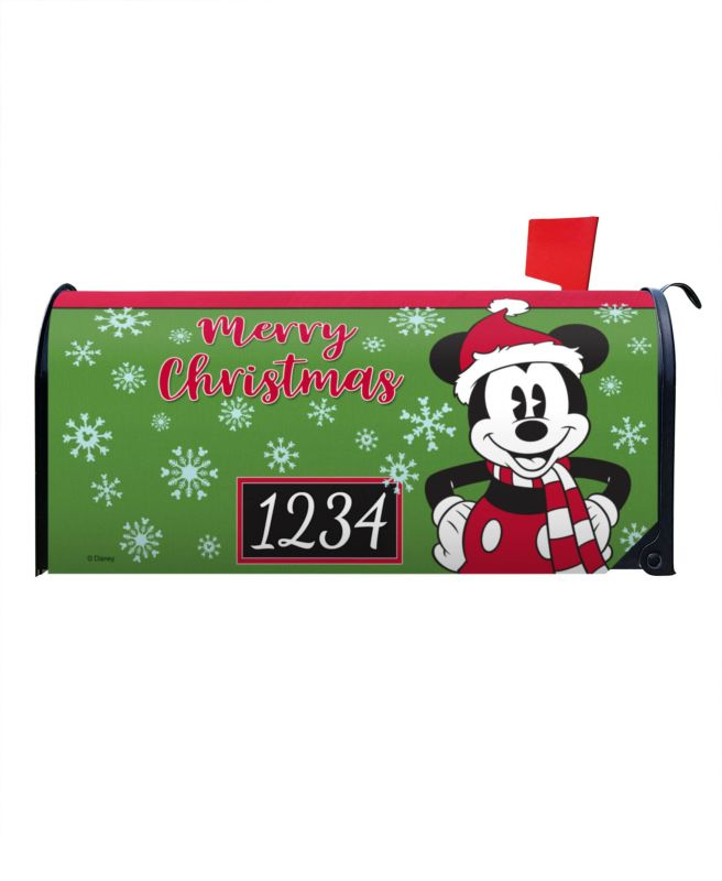 Mickey Mouse Disney Christmas Mailbox Cover