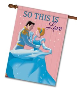 Cinderella Love House Disney Flag