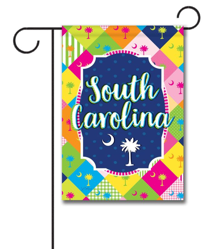 South Carolina Palmetto - Garden Flag - 12.5'' x 18''
