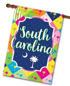 South Carolina Palmetto - House Flag - 28'' x 40''