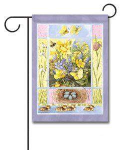 Easter Flowers - Garden Flag - 12.5'' x 18''