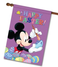Mickey Happy Easter - House Flag - 28'' x 40''