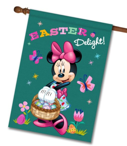 Minnie Easter Delight - House Flag - 28'' x 40''