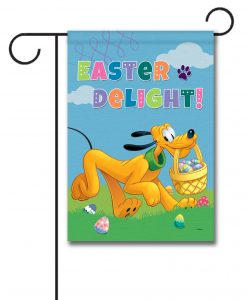 Pluto Easter Delight - Garden Flag - 12.5'' x 18''