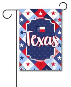 Texas Stars - Garden Flag - 12.5'' x 18''