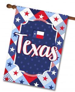 Texas Stars - House Flag - 28'' x 40''