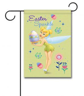 Tinker Bell Easter Sparkle - Garden Flag - 12.5'' x 18''