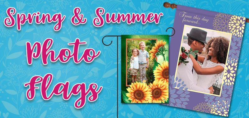 Spring & Summer Photo Flags